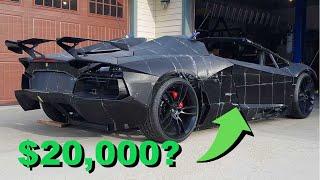 Father 3D Prints Lamborghini For His Son