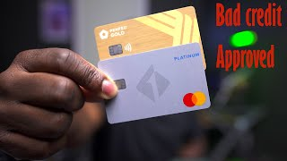 Credit Cards You Can Get With Bad Credit | Penfed and First Tech | My Score And Credit When I Got It