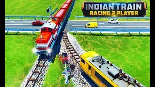 Indian Train Racing Games 3D - Android Gameplay  | Droidnation