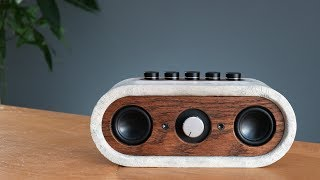 Build your own Concrete Bluetooth Speaker (how-to)