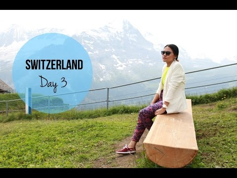 Switzerland Day 3 at Grindelwald, First, Interlaken and Harder Klum