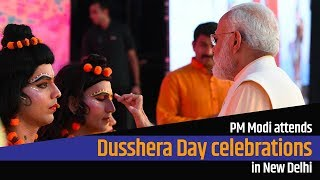 PM Modi attends Dusshera Day celebrations in New Delhi   PMO