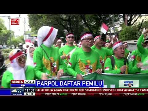 PKB Daftar ke KPU Jadi Peserta Pemilu 2019