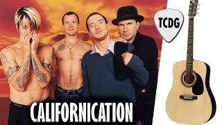 How To Play Californication On Acoustic Guitar | Red Hot Chili Peppers Easy Beginners Lesson TCDG