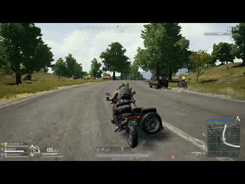 Pubg Road Warrior Action-courtesy of the Stealthy Chef 2018