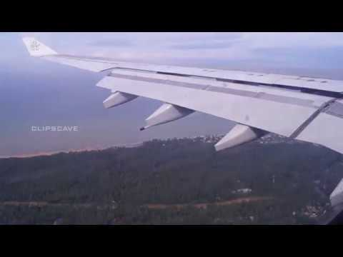 Kuwait to Trivandrum_take off and landing