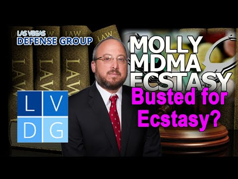 Penalties if busted for ecstasy in Las Vegas? Advice from an attorney