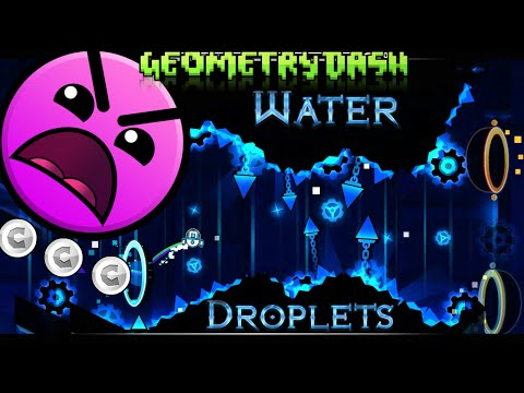 Geometry Dash [Insane] [User Coins] Water Droplets by goose