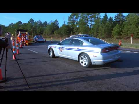 Clearing Traffic Off I-26 For Lane Reversal