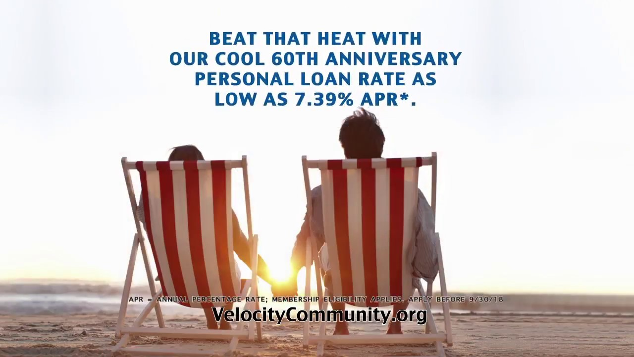 Beat That Heat With A Cool 60th Anniversary Personal Loan Rate From