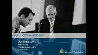 Cash Flow Management in Dynamics GP