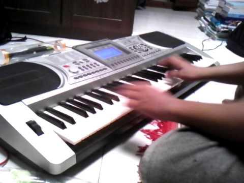 Belajar Keyboard Techno T9800i