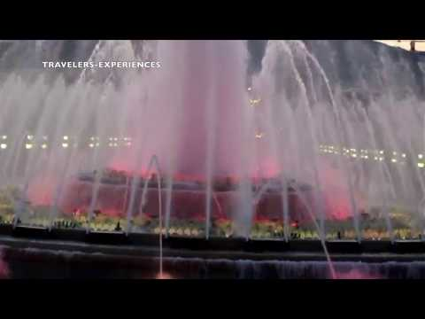 BARCELONA Magic Fountain of Montjuïc 2017 Must See & Do Travel Guide