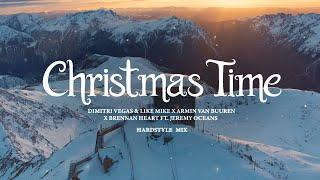 Dimitri Vegas & Like Mike x Armin van Buuren x Brennan Heart - Christmas Time (Hardstyle Mix)