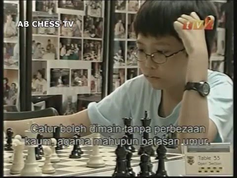 TV2 Coverage on Malaysia Chess Tournament