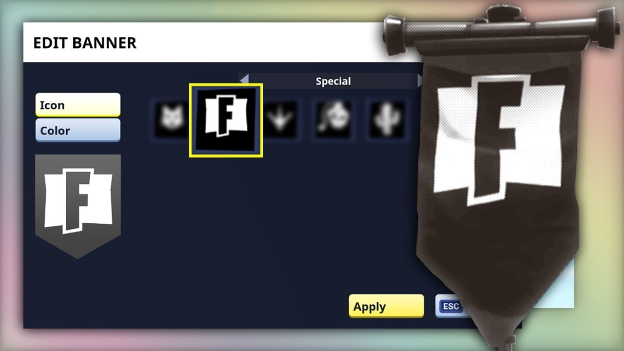 how to get the rare fortnite banner icon - how to get special icons in fortnite