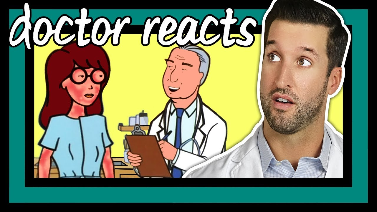ER Doctor REACTS to Funniest Daria Medical Scenes