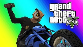 gta5 online funny moments bikers vs rpg
