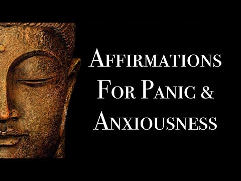 Subliminal Affirmations For Anxiety Attacks & Chronic Stress