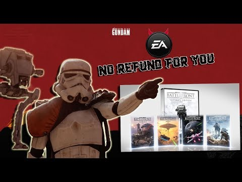 Guy loses his mind & buys Starwars: battlefront & EA refuses to give him a refund thumbnail