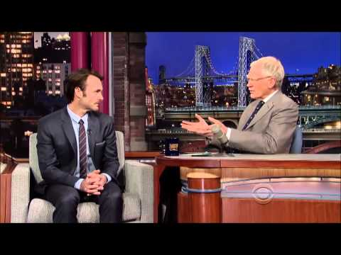 Will Forte on David Letterman 14 November, 2013 Full Interview