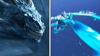 "FORTNITE X GAME OF THRONES 😍❤️ 'NEW' INSANE ICE DRAGON GLIDER ""FROSTWING"" LEAKED! (SOUFFLE DE GLACE)"
