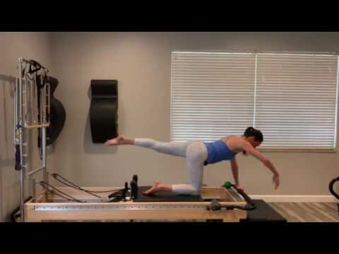 Have a ball with Pilates! Pilates Reformer workout #7