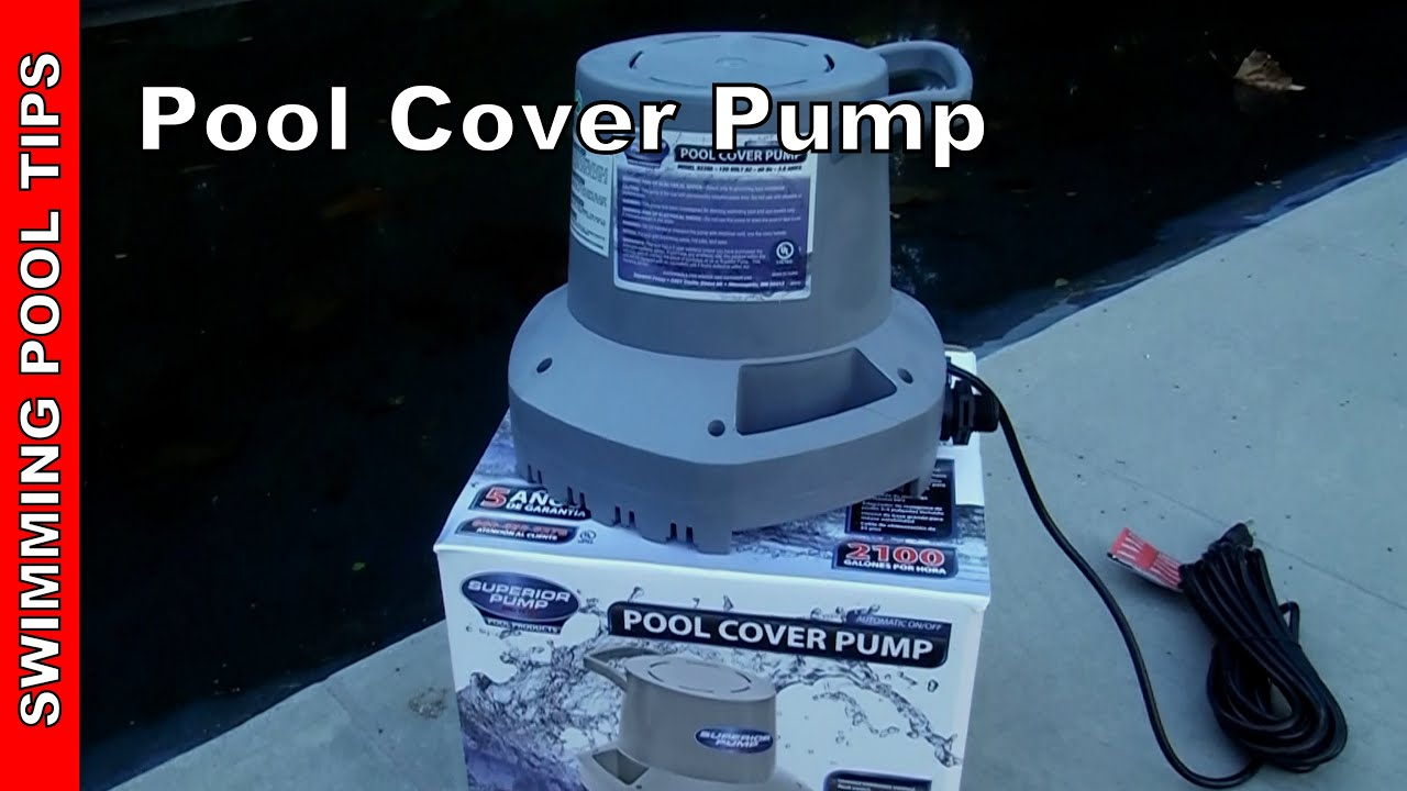 Pool Cover Pump By Superior Pump 92395 Youtube