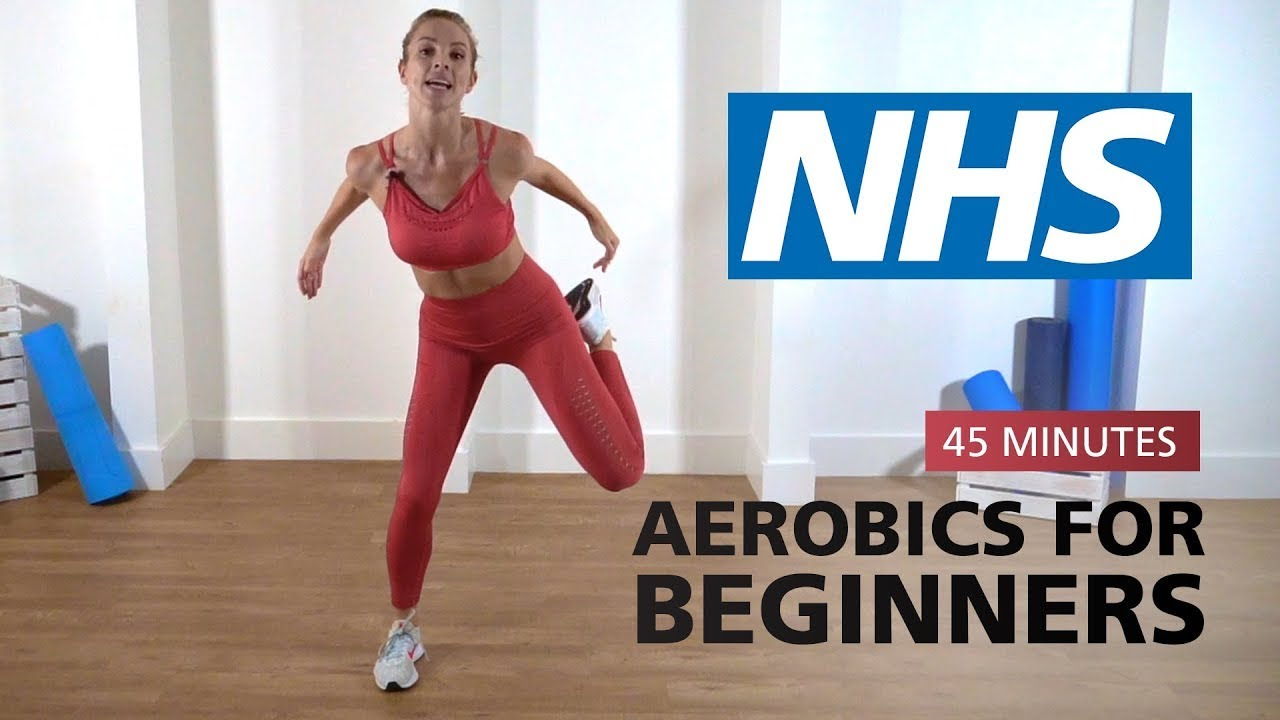 Aerobics for beginners - 45 minutes   NHS