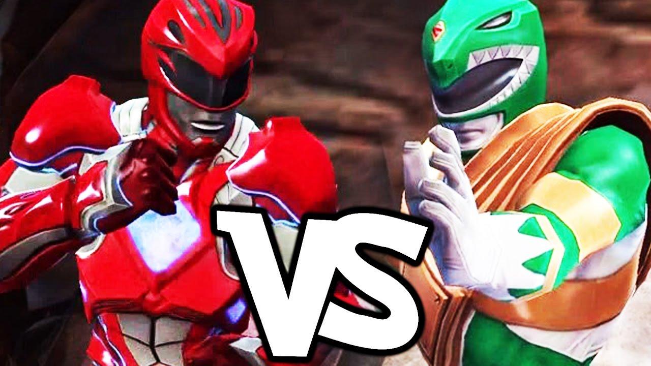 Power Rangers: Legacy Wars Gameplay #19 - Red Ranger (Movie) vs Green Ranger