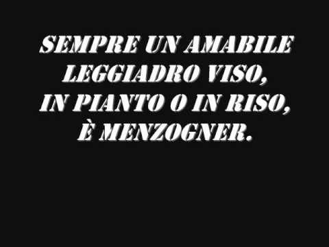 Rigoletto-La Donna è Mobile (Lyrics)