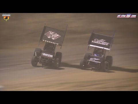 Sprint Car Challenge Tour Highlights @ Placerville (4/15/17)