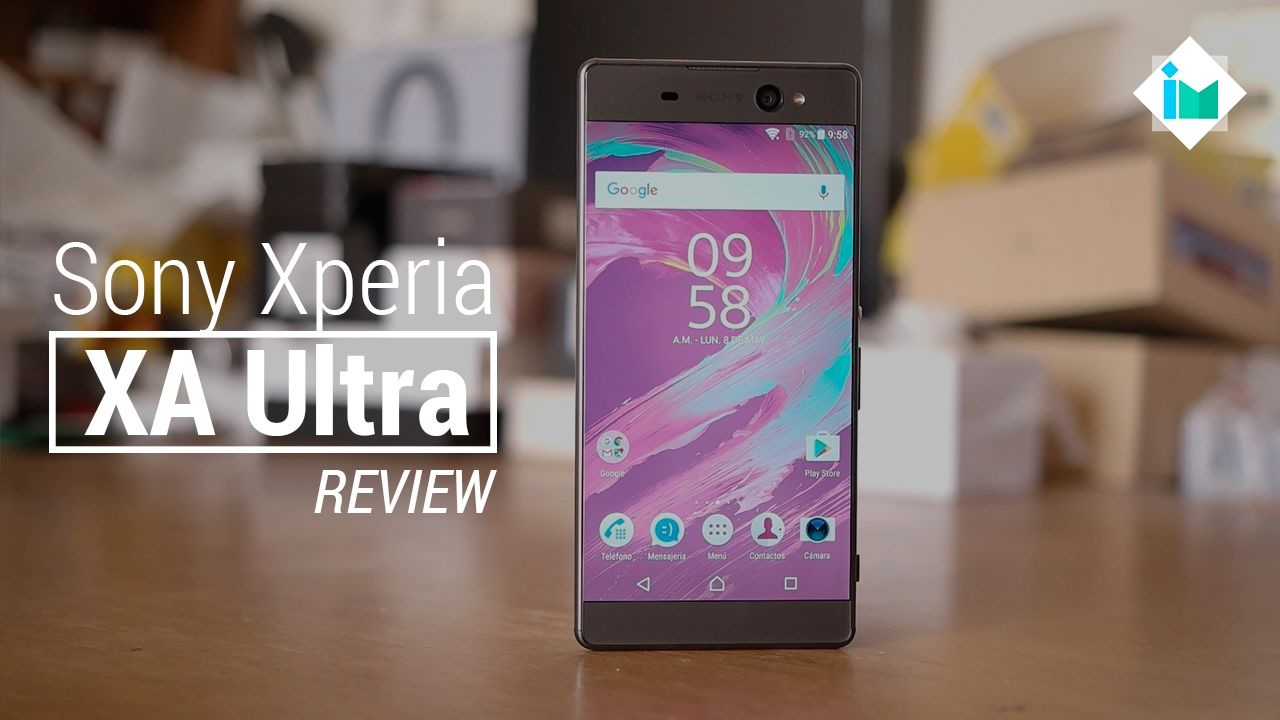 sony xperia xa ultra review en espa ol youtube. Black Bedroom Furniture Sets. Home Design Ideas