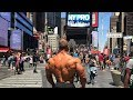 When A Bodybuilder Goes Shirtless In Public