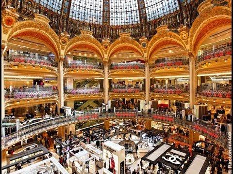 Les grands magasins, ces temples du rêve - Galeries Lafayette, Paris