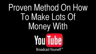 how to make money online with youtube must watch