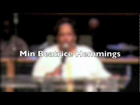 Min. Beatrice Hemmings.