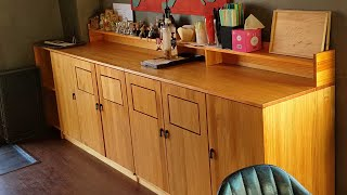Make Cabinets with swing doors…