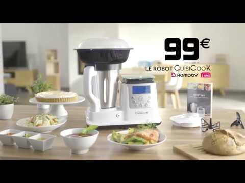 Le robot cuisicook chez gifi youtube - Recette avec robot de cuisine ...