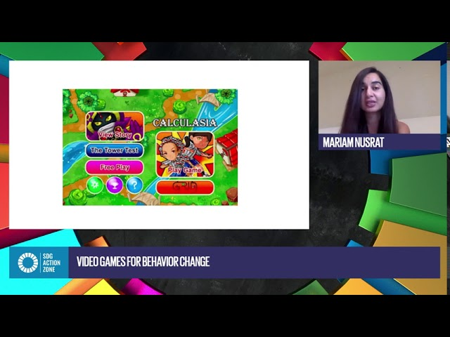 Video games for behavior change with Mariam Nusrat