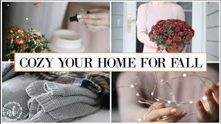 FALL DECOR TOUR 🍁 Cozy and Simple Touches That Save You MONEY! | NATALIE BENNETT