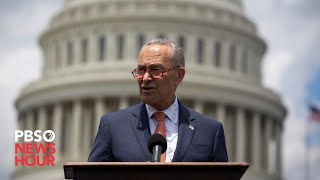 WATCH LIVE: Chuck Schumer speaks ahead of Trump's impeachment trial