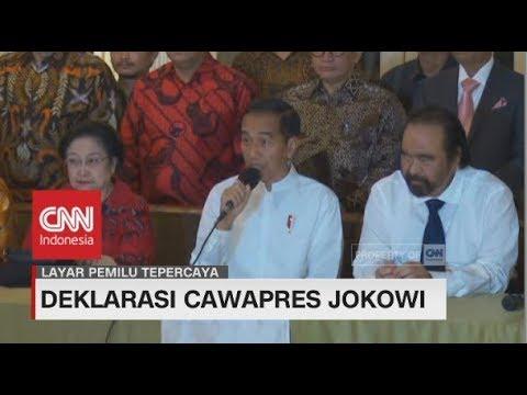 Surprise! Jokowi Pilih Ma'ruf Amin Jadi Cawapres #Pilpres2019
