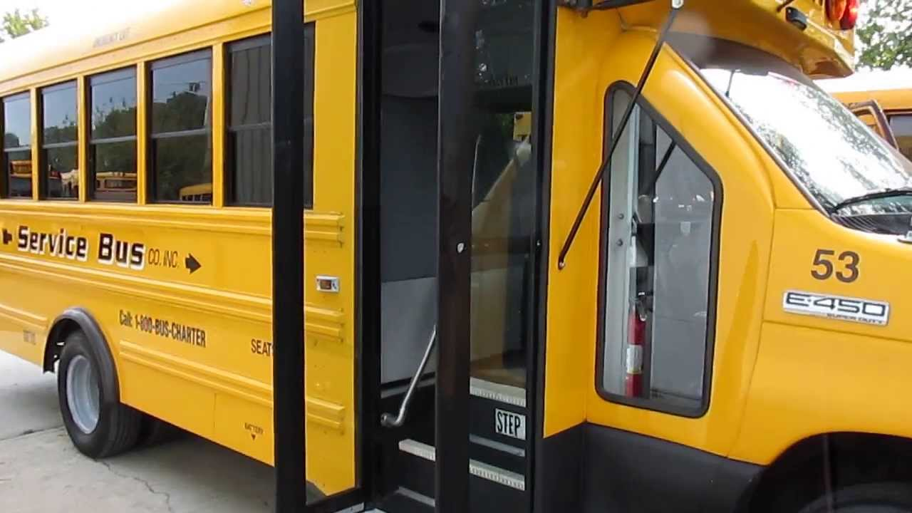 2006 Ford E450 School Bus For Sale In New York Diesel 28