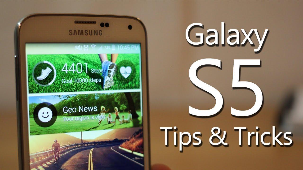 Best Galaxy S5 Tips and Tricks (Hidden features)