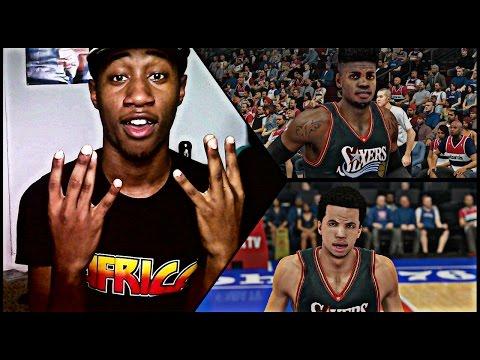 NBA 2K15 Philadelphia 76ers Challenge Face Cam ! Michael Carter-Williams Is TRASH !