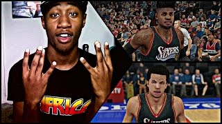 NBA 2K15 Philadelphia 76ers Challenge Face Cam ! Michael Carter-Williams Is TRASH !