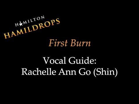 Hamildrop - First Burn - Vocal Guide: Rachelle Ann Go (Shin)