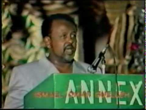 The head of the Cabinet, Ismail Omar Guelleh