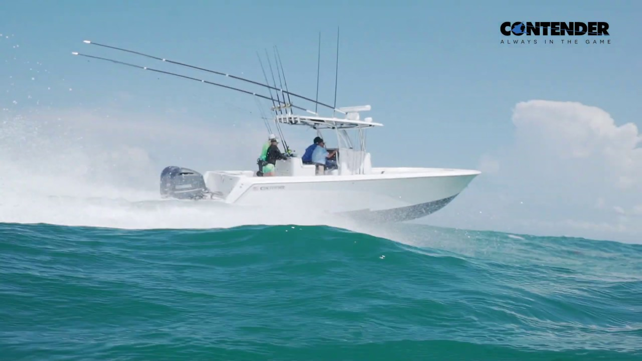 32 ST Tournament Fishing Boat - Contender Boats